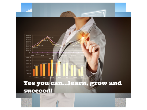 Yes you can...learn, grow and succeed! (1)